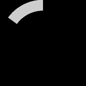 Infografik, Kreisdiagramm mit 80 Prozent Erfüllung